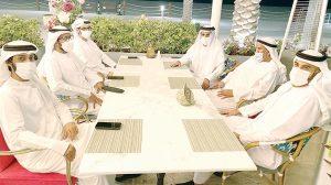 محمد بن حم خلال لقاء أعضاء الجمعية